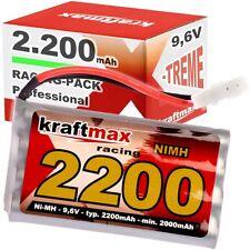 Akku RC-Pack 9,6V 2200mAh AA Mignon L4x2 NiMH RC Racing Pack für Tamiya min 2000