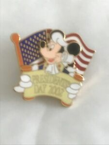 Disney Pins Limited Edition Presidents Day 2002