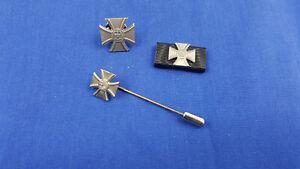 Bundeswehr Veteranenabzeichen Set Bandspange Pin Nadel Ordensspange Bandschnalle