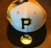 Size 7 1/8- Pittsburgh Pirates New Era 59FIFTY Hat MLB 2018 All-Star Game