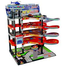 Parkgarage 5 Ebenen Kinder Autogarage Parkhaus Garage incl.Spielzeugautos SET