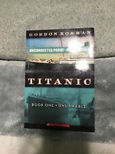 Titanic Book One- Unsinkable (paperback 2011)