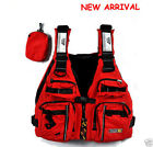Water Sports Red Adult Sailing Swimwear Fishing Kayak Canoeing Life Jacket Vest