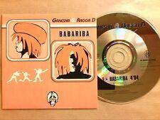 RARE CD PROMO 1 TITRE / GANESHA & RAGGA D / BABARIBA / TRES BON ETAT