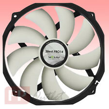 GELID SILENT PRO 14 cm 140mm PWM 12cm 120mm Mount 4pin Low Noise PC Case CPU Fan