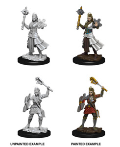 D&D Unpainted Minis Wv8 Female Human Cleric NEW miniatures Dungeons & Dragons