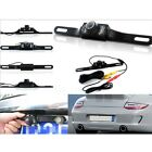 Wired LED License Plate IR Rear View Night Vision Reverse Parking Car Camera AD