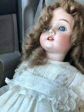 """Beautiful Max Handwerck Germany Bisque Head w/Jointed Composition Body 24"""" Doll"""
