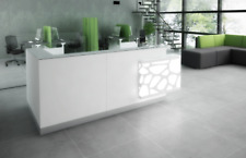 "Organic 122"" x 54"" L Shape Reception Desk"