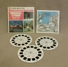 GAF Viewmaster UNIVERSAL STUDIOS Scenic Tour and Shows and Side effects-6 Reels