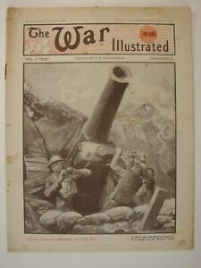 The War Illustrated, Great War # 191 (Amiens, 1918 German Offensive, Somme, WW1)