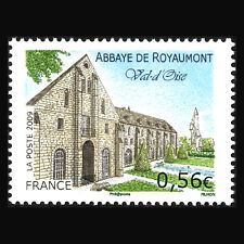 France 2009 - Tourism Royamont's Abbey Architecture - Sc 3594 MNH