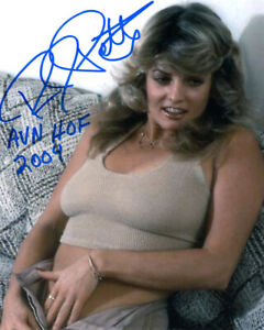 RHONDA JO PETTY SIGNED 8x10 PHOTO +HOF +BONUS XXX PORN ADULT LEGEND BECKETT BAS