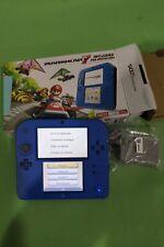 Nintendo 2DS Mario Kart 7 Bundle System - Blue - Free Shipping