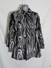 aa5f653c6d385 Polyester Animal Print Plus Coats