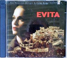 EVITA - MADONNA / ANDREW LLOYD WEBBER - (2) CD SET - WARNER BROTHERS - 1996
