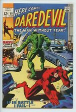 1969 MARVEL DAREDEVIL #50 (2) BARRY W. SMITH ARTIST  NM- 9.2   S2
