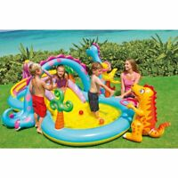 Outdoor Summer Play Water Park Center Inflatable Play Center Pool Water Slide
