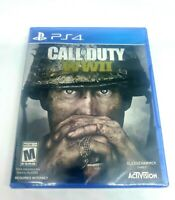 PS4 Call of Duty: WWII WW2 *NEW* FACTORY SEALED (Sony PlayStation 4, 2017)