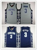 Throwback Allen Iverson Basketball Jerseys AI The Answer Fans Basketball Shirts