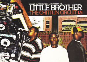 Little Brother The Chittlin Circuit 1.5 Promo Postcard 5x7 RARE Hip Hop 9th