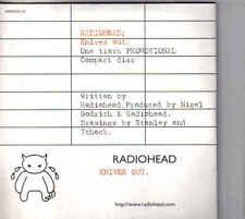 Radiohead-Knives Out Promo cd single