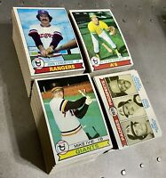 1979 Topps Partial Starter Set Lot Of 420 Diff Robin Yount Gary Carter Sutton ++