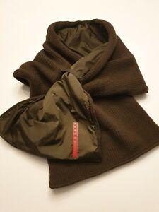Prada Schal Original, kakigrün, unisex