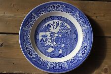"""BLUE WILLOW PATTERN WILLOW WARE ROYAL CHINA UNDERGLAZE DINNER PLATE 10"""""""