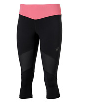 Asics Kneetight Damen Laufhose Running Tight Leggings Größe XS Black-Pink 133215