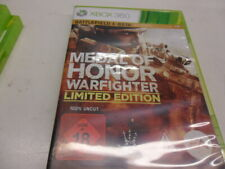 XBox 360   Medal of Honor: Warfighter - Limited Edition    USK 18