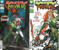 2020 DC Comics Harley Quin & Poison Ivey #5 & 6 Main Covers 2 Book Lot