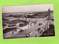 Clock Tower & Compass Skegness Motor Car RP pc used 1932 Empire View Ref E524