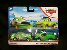 Disney Pixar Cars Chick Hicks & Chief Chick set.