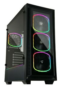 Enermax StarryFort SF30 w/ 4x SquA RGB Fan Pre-Installed Gaming PC Case