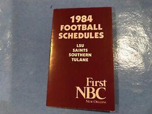 1984 LSU, Saints, Tulane , Sothern schedule