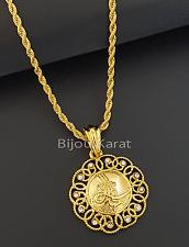 Altin Tugra Gold Münze inkl Halskette Türkisches Gold 22 Karat GP  Altin Kaplama