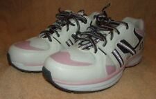 NWOT WOMEN'S ROTASOLE WHITE PINK GRAY SHOES SIZE 8M 8 MEDIUM