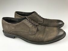 Banana Republic Brown Thick Soled Leather Oxford Wingtip Shoes Men's 11M