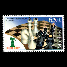 Moldava 2007 - World Chess Championship in Mexico - Sc 574 MNH