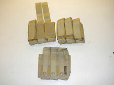 QTY 3 New Military Bellum Designs Triple 40mm Grenade Pistol Mag Molle Pouch