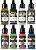 Vallejo Model Washes Paints Choose / Mix17ml Bottles Different Shades of Wash