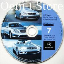 2000 01 02 03 MERCEDES CL500 CL600 CL55 AMG NAVIGATION CD 7 NEW ENGLAND CT MA NY