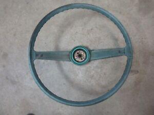 1961 Chevrolet Belair interior steering wheel hot rod rat rod parts Biscayne