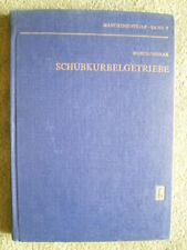 Schubkurbelgetriebe - DDR Fachbuch Getriebe Kurbelwelle Schubstange Kolben