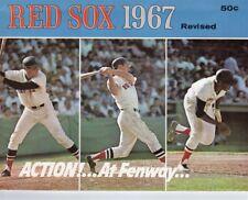 1967 Boston Red Sox Yearbook Revised MT Carl Yastrzemski/Tony Conigliaro Ex