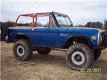 Family Roll Bar 66-77 Bronco Pro Cage Kit with Seat Mounts and Shoulder Harness
