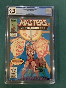 Marvel Masters Of The Universe #1 CGC 9.2  Key First Issue!! He-Man, Skeletor!
