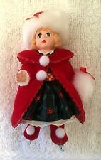 Hallmark Collectible Ornament-MadameAlexander- Christmas Holly #5 in Series-2000