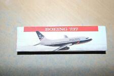 WOOSTER  1:200  BOEING 737 BRITISH AIRWAYS